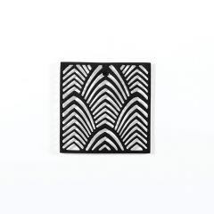 Leaf Pattern Aluminium Trivet