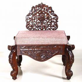 Traditional Wooden Handmade Sofa