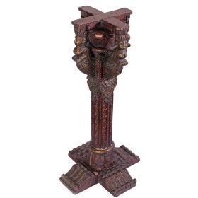 Handcrafted Pedestal Pillar