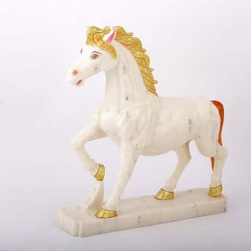 Marble Horse Showpiece