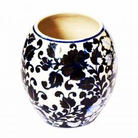 Susan White Lilies Pottery Vase