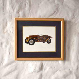 Roadster Vintage Car Painting
