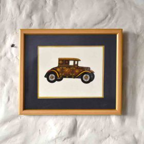 Coupe Vintage Car Painting