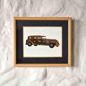 Limousine Vintage Car Painting