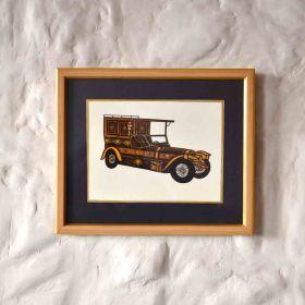 Brougham Vintage Car Painting