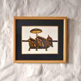 Vintage palanquin Painting