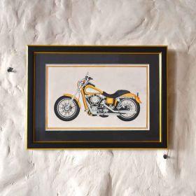 Yellow Bike Painting
