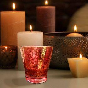 Soya Wax Aroma Glass Candle