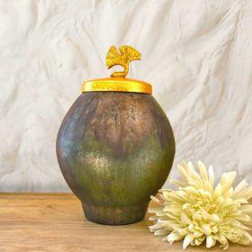 Antique Green Egyptian Vase