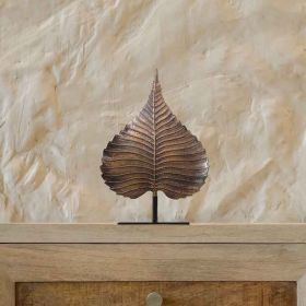 Peepal Leaf Tabletop Sculpture
