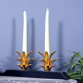 Pineapple Top Decorative Candle Holder