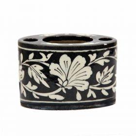 Azalea- Black Blue Pottery Multi-purpose Holder