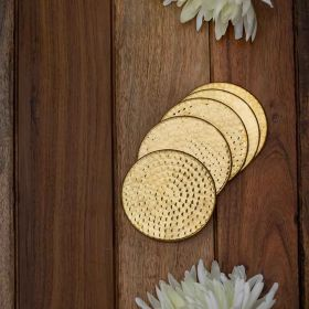 Aurelia Hammered Coasters (Set of 6)