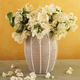 Aaghaaz Grey Terracotta Vase