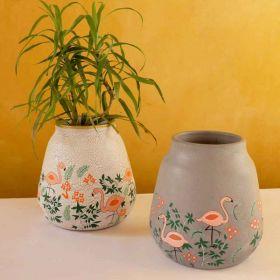Nishaat Terracotta Decor Jar