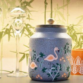 Nishaat Grey Terracotta Jar