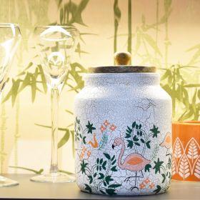 Nishaat White Terracotta Jar