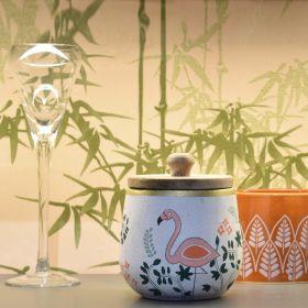Nishaat White Terracotta Multipurpose Jar