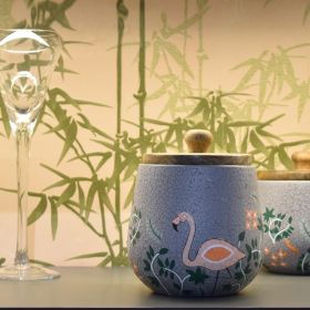 Nishaat Grey Terracotta Multipurpose Jar