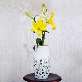 Nishaat Floral Terracotta Vase