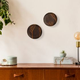 Aaghaaz Terracotta Wall Plates