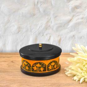Black Wooden Decorative Box
