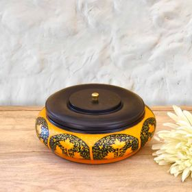Black Handi Wooden Bowl