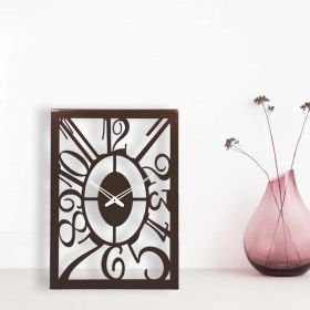 Whimsical Metal Wall Clock