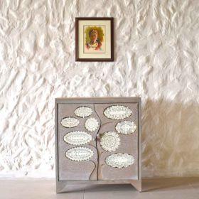 Neisha Tree Pattern Cabinet
