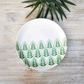 Springtime Ceramic Plate