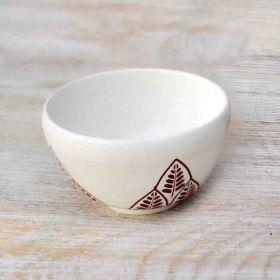 White Condiment Bowl