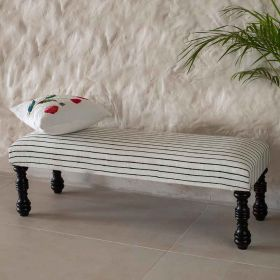 Nayab Striped Bench