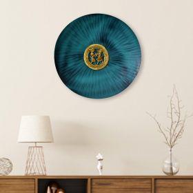 Antonia Green Dhokra Disc Metal Wall Art