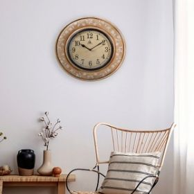 Off White Wall Clock