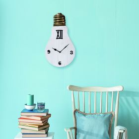 Bulb Antique Wall Clock