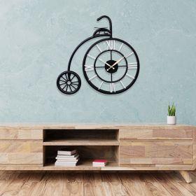 Metal Cycle Wall Clock