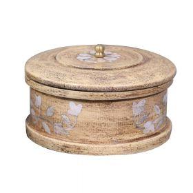 Beige Wooden Decorative Box