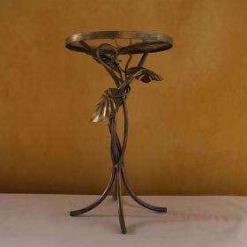 Neisha Glass Side Table