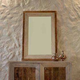 Distressed Frame Mirror