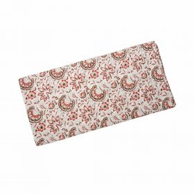 Floral Hand Block Print Bed Sheet