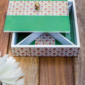 City Palace Green Multipurpose Box