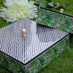 Geometric Print Multipurpose Box