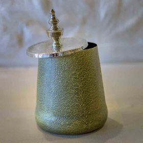 Midnight Green Décor Jar