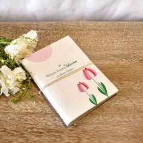 Inspiring Quote Handmade Diary