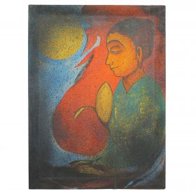 Awakening Of Siddhartha- Canvas Oil Painting