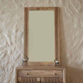 Jute Frame Mirror