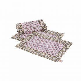 Peepal Hand Block Print Table Mats (Set of 6)