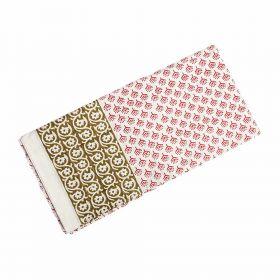 Peepal Hand Block Print Bed Sheet