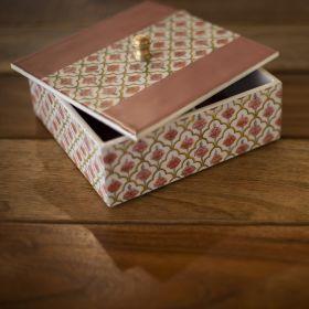 City Palace Peach Pink Multipurpose Box