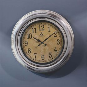 White Antique Wall Clock